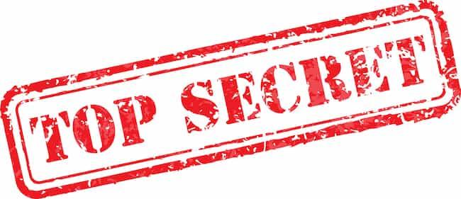 Top Secret Beta Sign Up